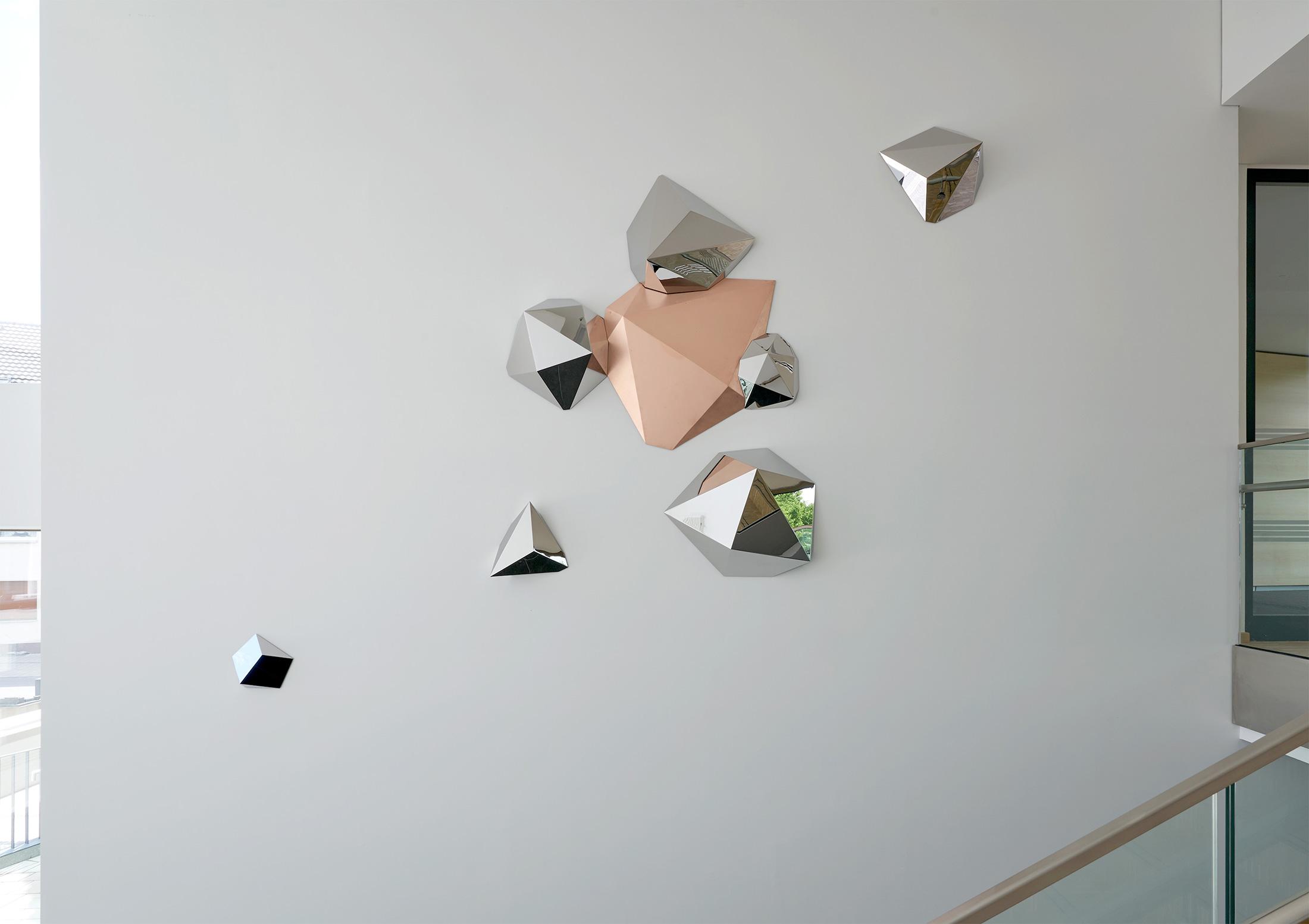 Eugène_01, Kunst am Bau, Rathaus der Stadt Ratingen, 2020